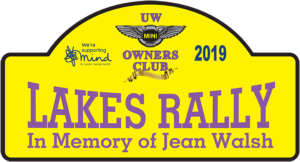 UW Mini Lakes Rally 2019